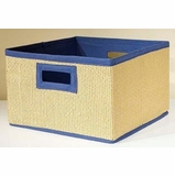 Blue Storage Baskets (Set of 3) - Links - Alaterre - AB3200BLU