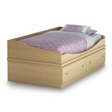 Twin Size Mates Bed (39) in Maple - South Shore Furniture - 3613219