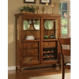 Lavista Curio in Dark Oak - Coaster - 102154