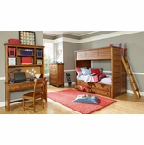 Lea Elite Logan County Full Bunk Bed Bedroom Set - 139-986R