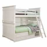 Lea Elite Hannah Full Over Full Bunk Bed - 147-979R