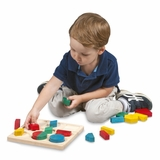 Educational Toy - Fraction Action Board in Multi - Guidecraft - G6701