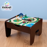 2-in-1 Activity Table in Natural Wood / Multi-Color - KidKraft Furniture - 17577