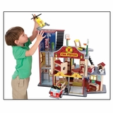 Deluxe Fire Rescue Set - KidKraft Furniture - 63214