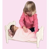 Doll Bed - White - Guidecraft - G98126