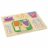 Sorting Food Tray - Dinner - Guidecraft - G462