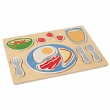 Sorting Food Tray - Breakfast - Guidecraft - G460