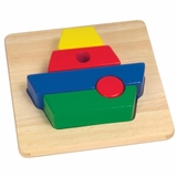 Educational Toy - Chunky Puzzles Boat - Guidecraft - G2015