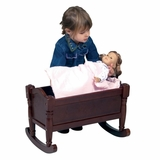 Doll Cradle in Espresso - Guidecraft - G98113