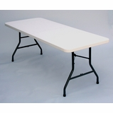 Blow Molded 30 x 96 Food Service Table - Correll Furniture - FS3096
