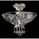 Grove Park-Court Semi Flush Mount - Dale Tiffany - GH90248