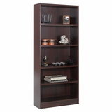 72 Tall Bookcase in Mahogany - Essentials Collection - Nexera Furniture - 731202