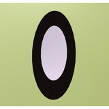 Boomerang Oval Mirror - Nexera Furniture - 540417