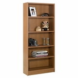 72 Tall Bookcase in Cappuccino - Essentials Collection - Nexera Furniture - 731208
