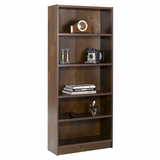 72 Tall Bookcase in Truffle - Essentials Collection - Nexera Furniture - 731212
