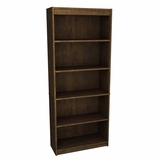 Bookcase in Chocolat - Bestar Office Furniture - 65715-69
