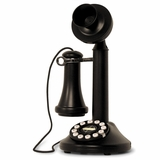 Retro Phone - The Candlestick Phone - Black - Crosley - CR64-BK