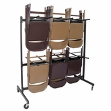 Folding Chair Cart - 8069BK