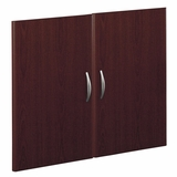 Half Height Door Kit (2 Doors) - Series C Mahogany Collection - Bush Office Furniture - WC36711