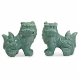 Choo Foo Dogs (Set of 2) - IMAX - 34073-2
