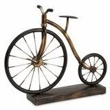 Big Wheel Bicycle Statuary - IMAX - 12925