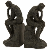 Thinking Man Bookends (Set of 2) - IMAX - 53016-2