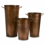 Tauba Copper Vase (Set of 3) - IMAX - 44118-3