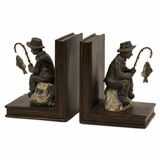 Fisherman Bookends (Set of 2) - IMAX - 53008-2