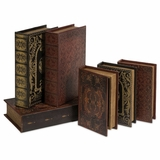 Monte Cassino Book Box Collection (Set of 6) - IMAX - 1927-6