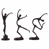 Dancers (Set of 3) - IMAX - 60903-3