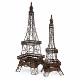 Eiffel Tower Accents (Set of 2) - IMAX - 12369-2