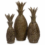 Pineapple Medley (Set of 3) - IMAX - 10612-3