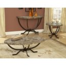 Coffee Table Set in Matte Espresso - Monaco - Hillsdale Furniture