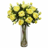 Giant Peony Silk Flower Arrangement - Nearly Natural - 1231-YL