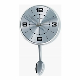 George Nelson Stainless Spoon Pendulum Clock - 1415SPOON