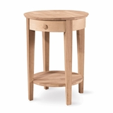 Phillips Accent Table with Drawer - OT-2128