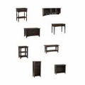 Shaker Cottage Furniture Collection in Chocolate - Alaterre
