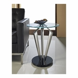 Tripod Metal and Glass Table - Powell Furniture - POWELL-989-352