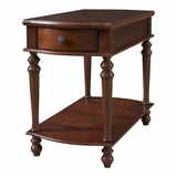 Cherry Chairside Table with Drawer - Powell Furniture - POWELL-998-894