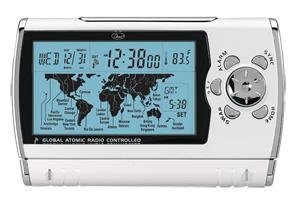 World Sync Atomic Travel Alarm Clock