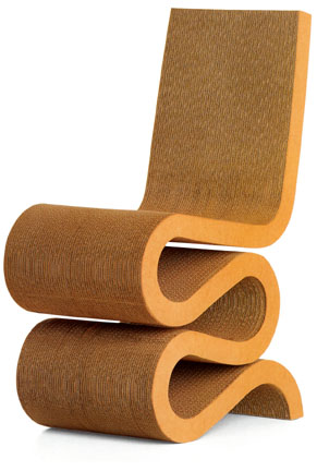 Gehry Wiggle Side Chair
