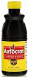 Autocrat Coffee Syrup 6-16 oz. Bottles