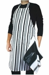 MUKitchen Magnetic Barbeque Apron & Towel Set, Onyx
