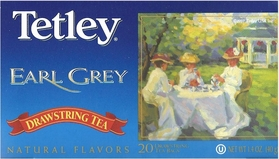 Tetley Earl Grey Drawstring Tea (5491) 20 Bags