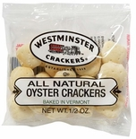 Westminster All Natural Oyster Crackers 1/2 oz - 150ct. Case