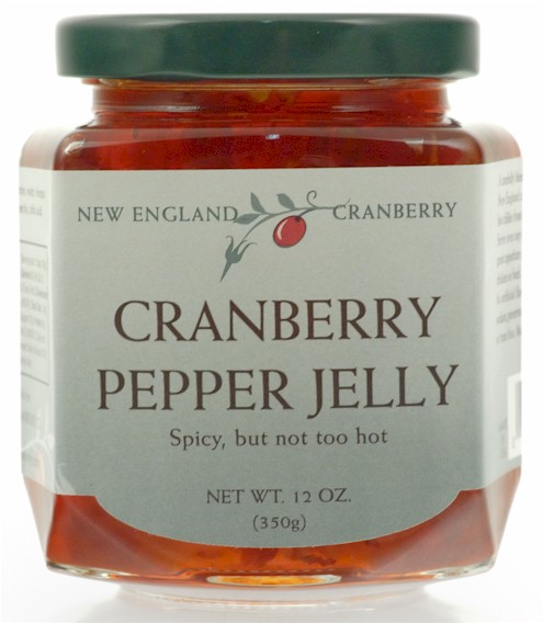 Cranberry Pepper Jelly 12 oz. by New England Cranberry
