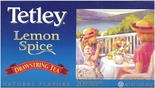 Tetley Lemon Spice Drawstring Tea (5494) 20 Bags