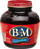B&M Original Baked Beans (glass jar) 18 oz.