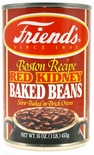 * Friend's Boston Recipe Red Kidney Beans 16 oz.