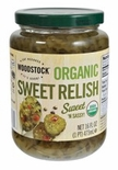 Woodstock Organic Sweet Relish 16 oz.